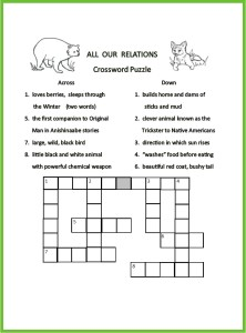 All-Our-Relations-Crossword
