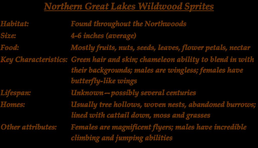 Wood Sprites Description